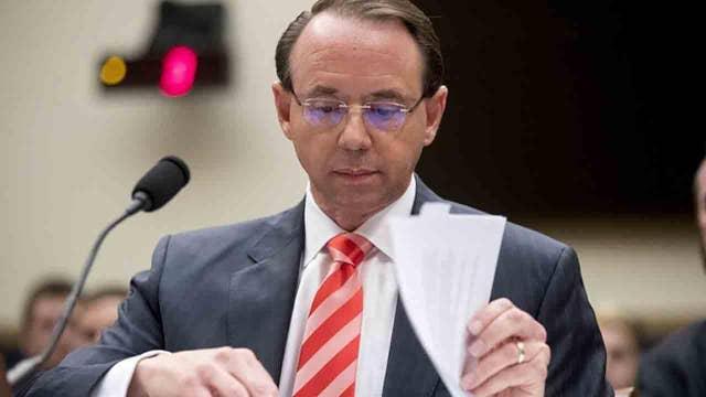Eric Shawn: Rosenstein, a 'wire' and the 25th Amendment