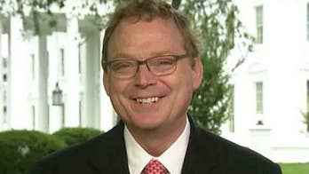 Hassett is under fire from the left for claiming the corporate tax cut President Trump signed into law has almost paid for itself. Chairman of the Council of Economic Advisers fires back on 'Journal Editorial Report.'