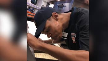A pizza shop employee at Comerica Park in Detroit was fired after a video of him spitting into customers' food went viral on Instagram.