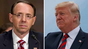 President Trump would be ignoring advice from many Republicans, including Mitch McConnell, if he removes Deputy Attorney General Rod Rosenstein, says Judge Andrew Napolitano, Fox News senior judicial analyst.