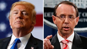 In a statement, White House press secretary Sarah Sanders says the meeting comes at the request of Deputy Attorney General Rod Rosenstein.