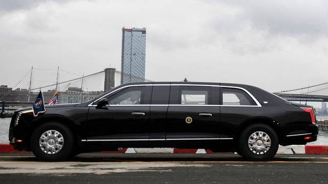 New presidential 'Beast' unveiled