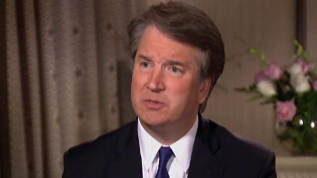 Kavanaugh wants fair process so he can defend his integrity