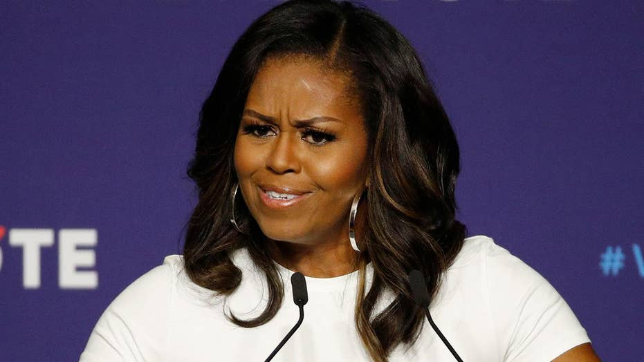 Michelle Obama rallies Democratic voters in Las Vegas