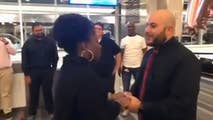 Check out this viral video of a soon-to-be-groom as he took over Southwest Airline's baggage claim to pop the question to his future bride.