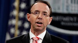 "The chairman of the House Freedom Caucus is calling on Deputy Attorney General Rod Rosenstein to appear before Congress this week to testify about reports claiming he suggested wearing a ""wire"" to record President Trump and broached invoking the 25th Amendment to remove the president from office."