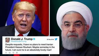 President rejects meeting Iranian president at the U.N. General Assembly; Benjamin Hall reports on the war of words between the leaders.
