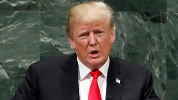 'We cannot allow the world's leading sponsor of terrorism to possess the planet's most dangerous weapons,' President Trump says at the United Nations General Assembly.