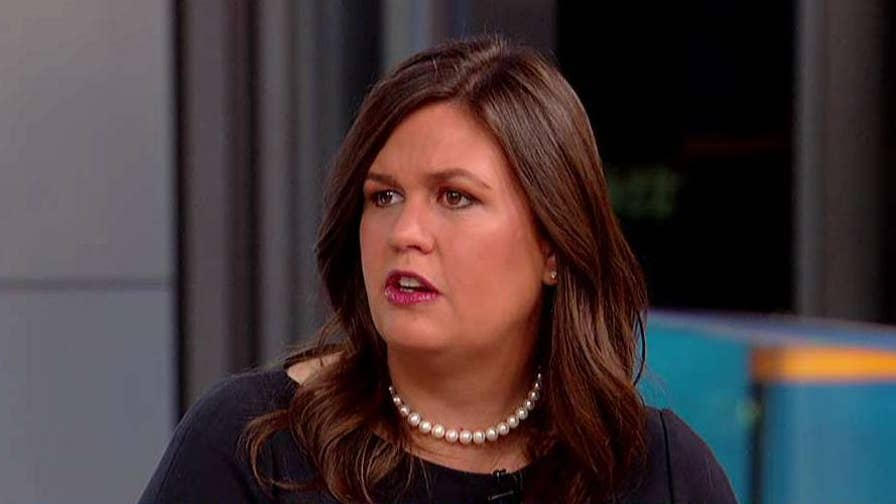 On 'Fox & Friends,' the White House press secretary speaks out on the Supreme Court nomination process, the Russia investigation and President Trump's message to the U.N.