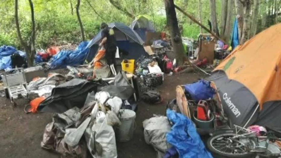 Homeless group sues WA city, county over mistreatment claims