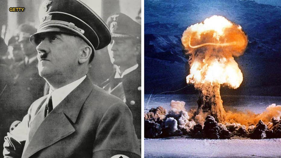 Hitler's nuclear plans crushed by sinking ferry