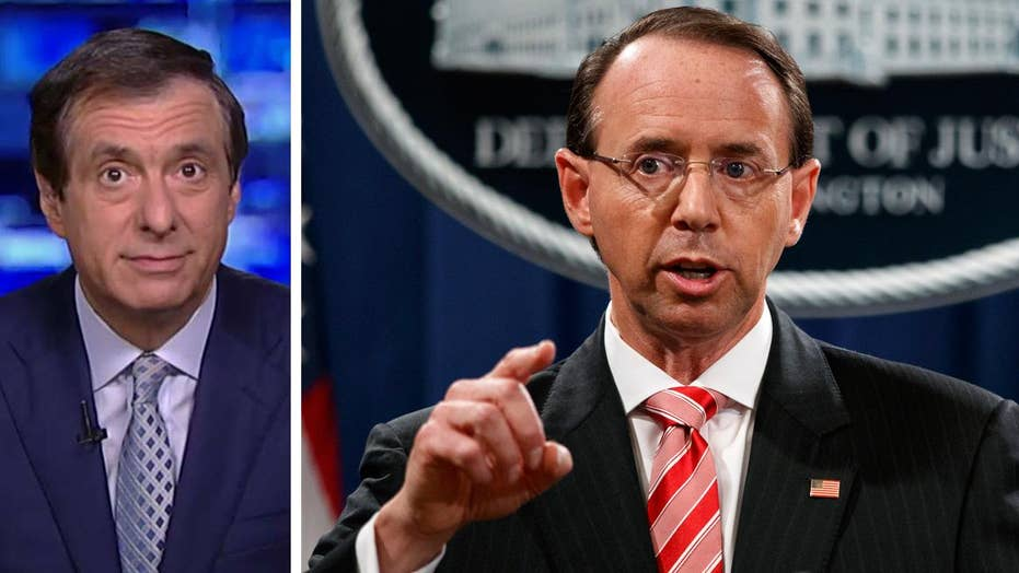 Kurtz: Why Trump would be blamed for any Rosenstein exit