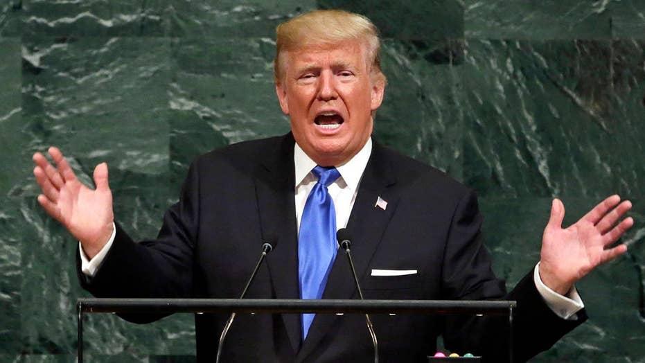 Trump promotes patriotism, targets Iran at United Nations