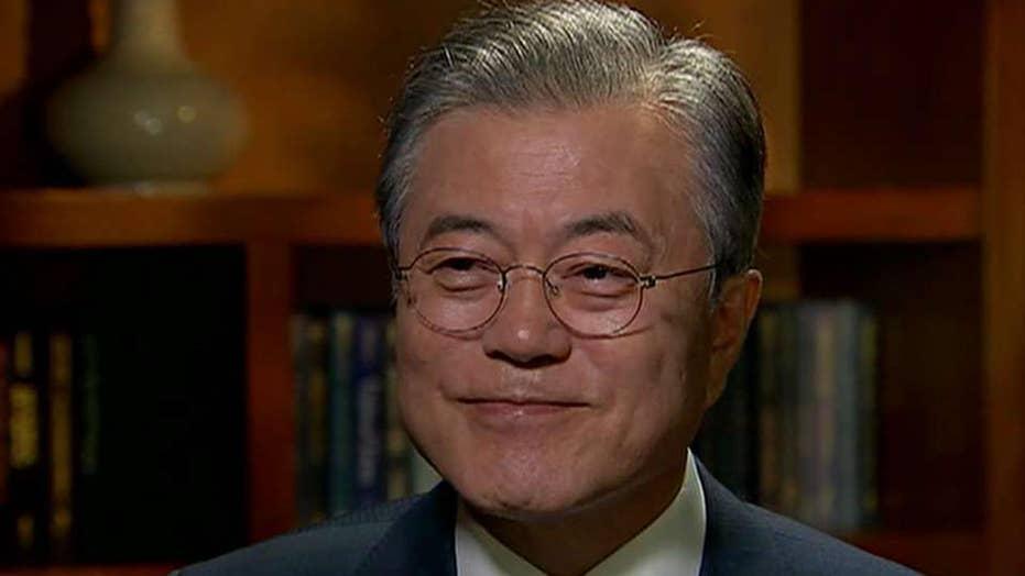 Moon Jae-in tells Fox News he expects Trump-Kim meeting soon