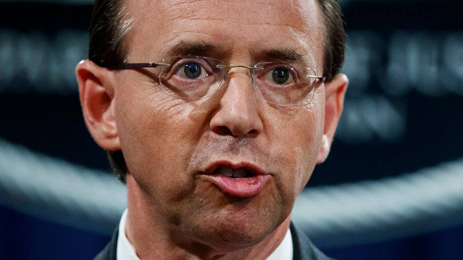 New calls for Rod Rosenstein to appear before Congress