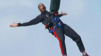 Actor Will Smith accepts Yes Theory's challenge and bungee jumps above the Grand Canyon.