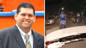 39-year-old Alberto Bocanegra Jr. fatally shot after chasing down a driver who allegedly hit a bicyclist.