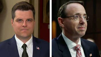 Rep. Gaetz: Rosenstein needs to testify before Congress