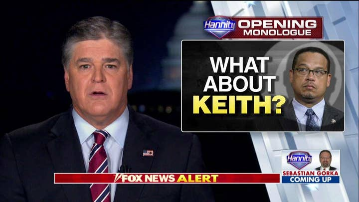 Hannity Asks Democrats Why They Are Silent on Ellison