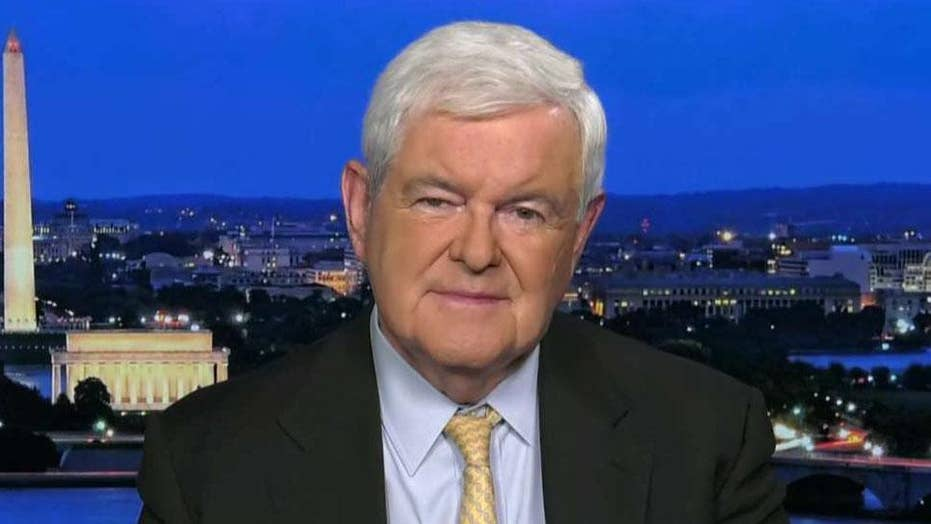 Newt Gingrich: Kavanaugh controversy is about 'raw power'