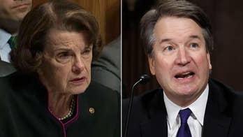 Kavanaugh chaos hangs over Feinstein's all-Democrat Senate race
