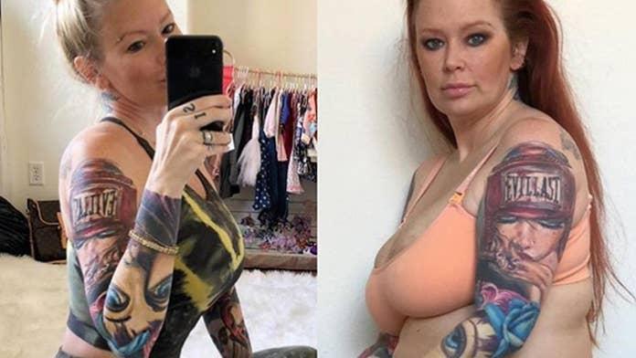 Jenna Jameson flaunts slimmer backside after weight loss