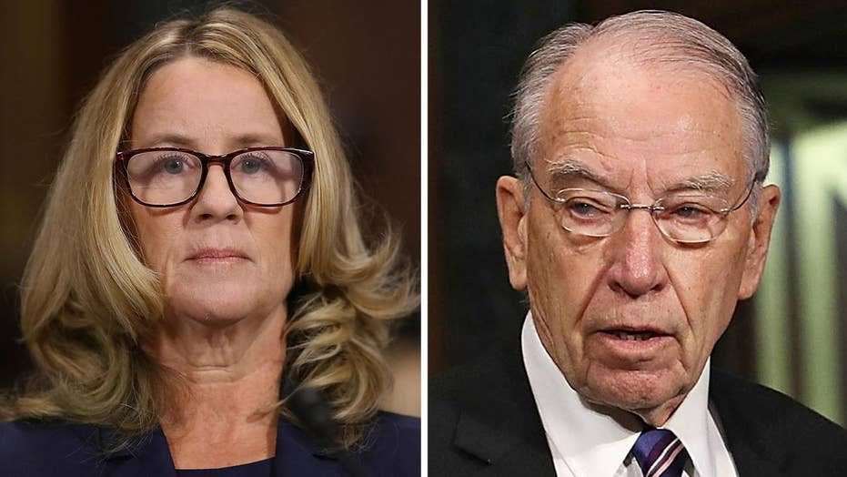 Grassley: Kavanaugh accuser Ford mistreated by Democrats