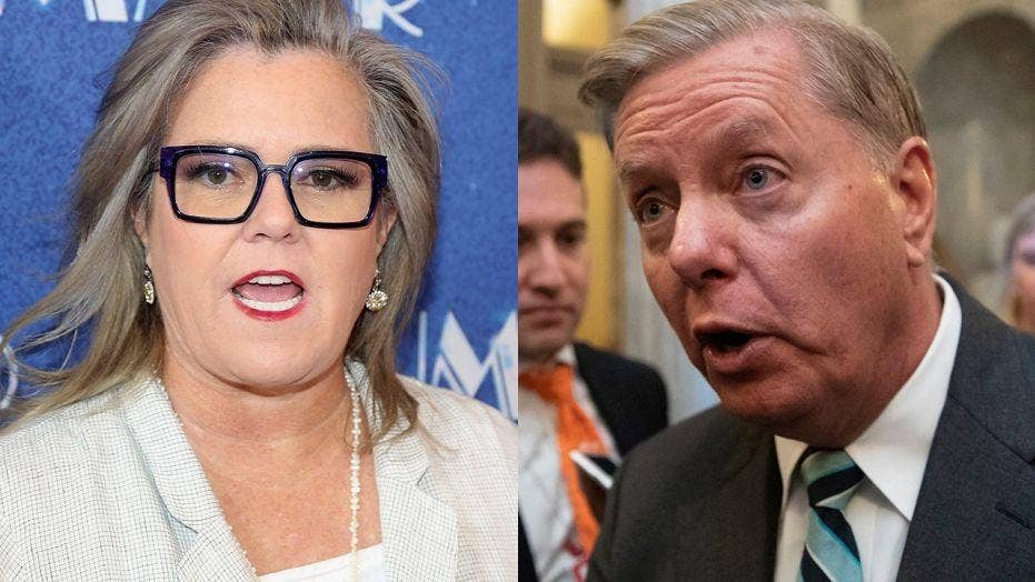 Rosie O'Donnell under fire for using 'gay slur' towards Lindsey Graham