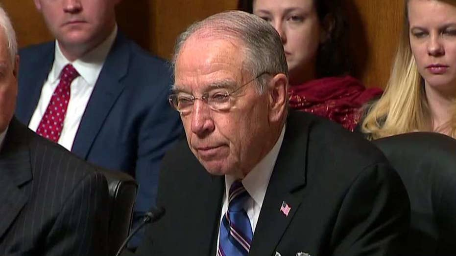 Sen. Grassley scolds staffer: Speak plainly with me please