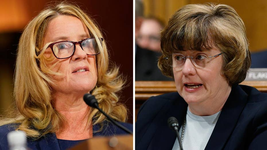 Rachel Mitchell questions Ford over details of allegation