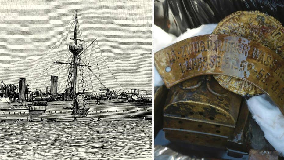 'Time capsule' warship wreck discovered