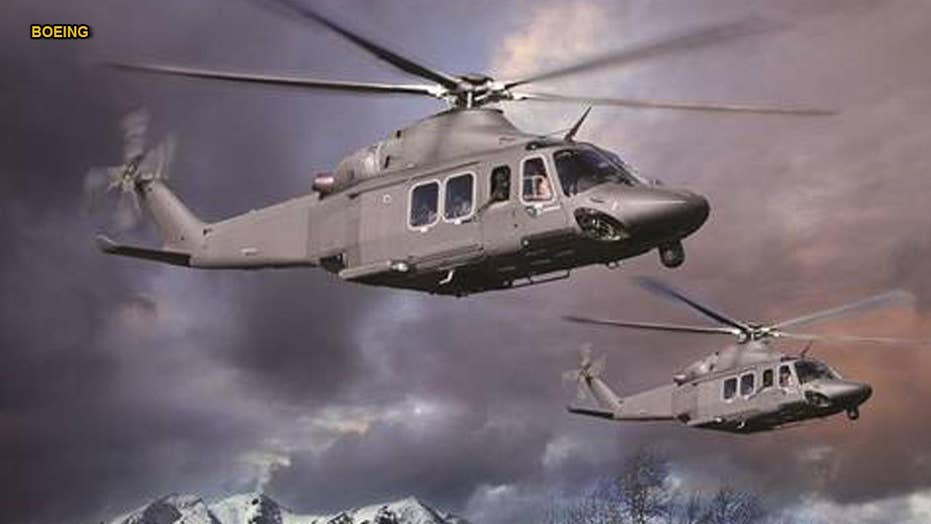 New Air Force helicopters that can 'defy Armageddon'
