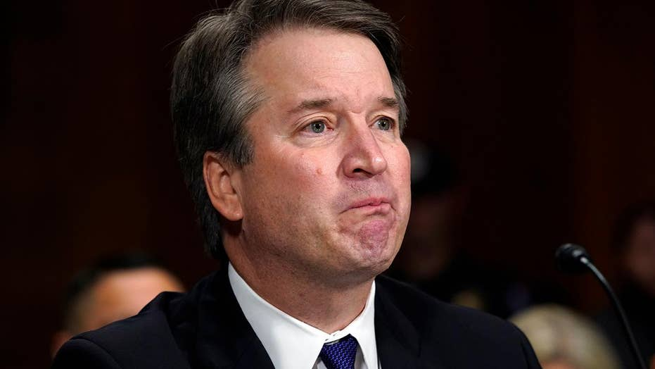 Brett Kavanaugh forcefully denies sexual assault allegation