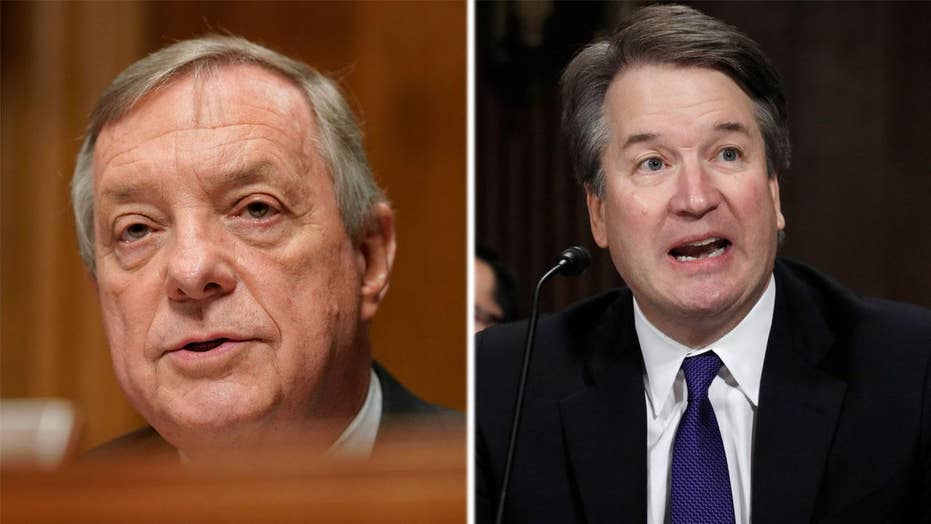 Durbin challenges Kavanaugh to call for FBI investigation