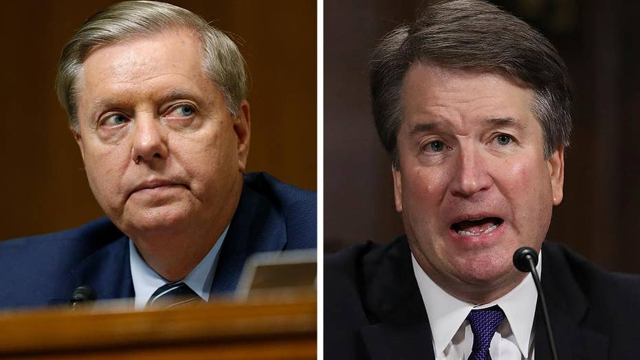 Sen. Graham slams Democrats, vigorously defends Kavanaugh