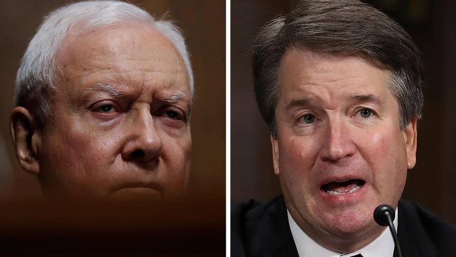 Sen. Hatch: Kavanaugh treated worse than Bork and Thomas