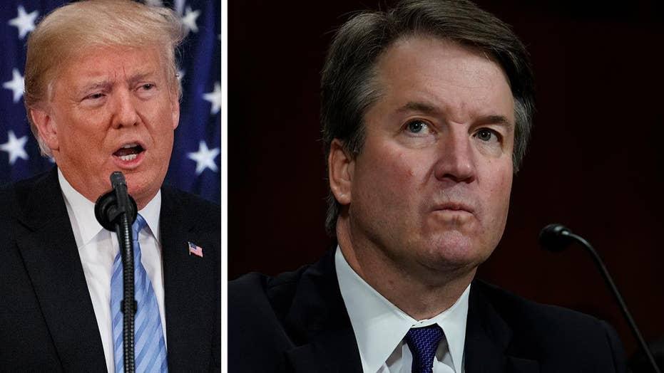 Trump praises Kavanaugh's testimony, urges Senate to vote