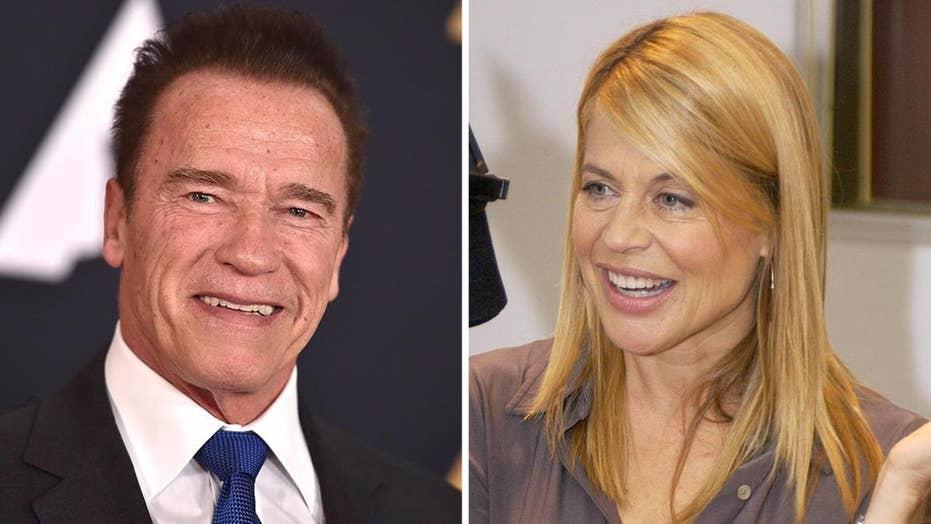 Arnold Schwarzenegger reunites with Linda Hamilton