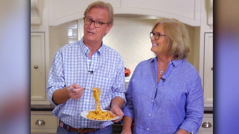 Steve Doocy's red pepper pasta recipe