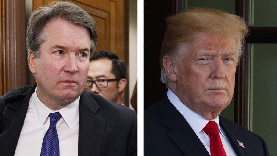 President Trump orders FBI investigation into Kavanaugh