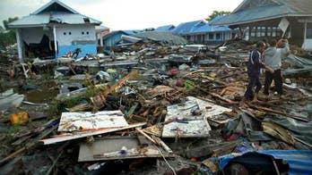 Indonesia earthquake triggers tsunami, kills hundreds