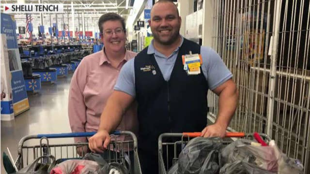Walmart manager sends supplies to hurricane victims