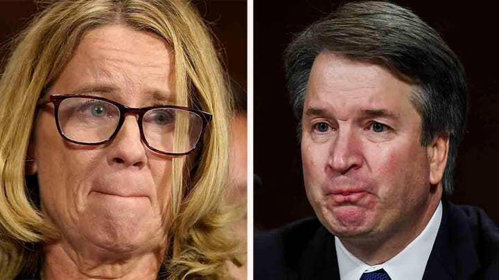 Ford and Kavanaugh offer emotional testimony to Senate