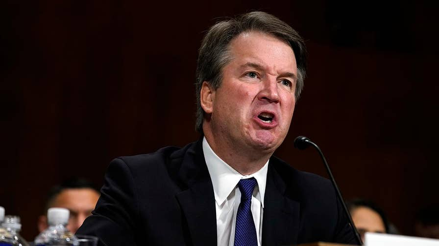 After dragging his name through the mud, the left fault Supreme Court nominee Brett Kavanaugh for defending himself; reaction from progressive radio host Chris Hahn.