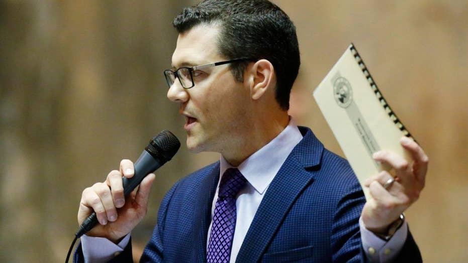 After Kavanaugh hearing, woman accuses state senator of rape
