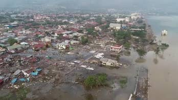Indonesia earthquake: Drone footage shows horrific aftermath