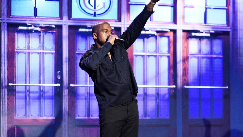 Kanye delivers pro-Trump rant on 'SNL,' gets booed