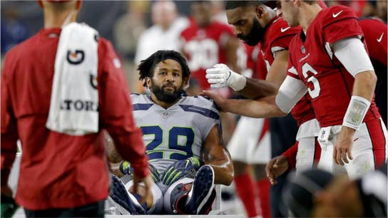 Seattle Seahawks player breaks leg, flips off team