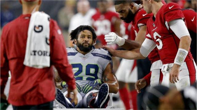 Seattle Seahawks player breaks leg, flips off team