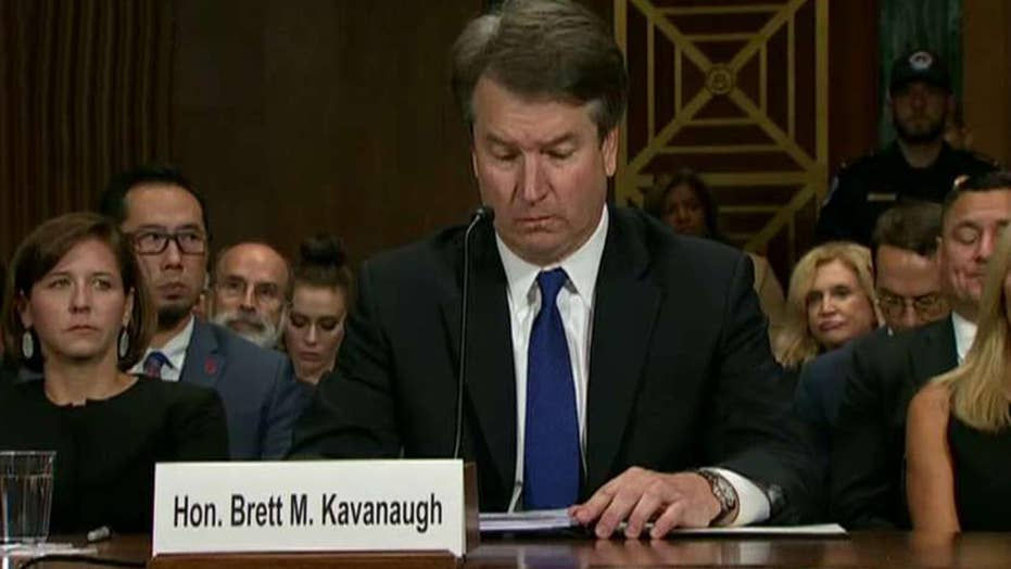 Will Kavanaugh hearing spur a red wave in the midterms?